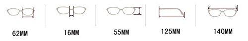 Oval 357 protección polarizadas sol gafas UV400 para mujer nbsp;Mode gran nbsp;– de Brown de gafas Retro Nikgic faRPwyqq