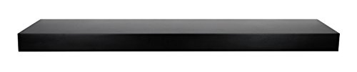 """Review MCS 66880 Deep Floating Wall Shelf/Ledge, 35"""" Long, Black Finish By MCS by NEWCOMERS"""