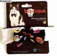 Petco Halloween Sugar Skull Bowtie Cat Costume