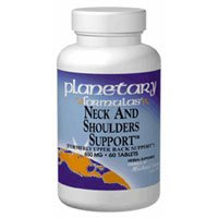 PLANETARY HERBALS, Neck and Shoulder Support™ - 45 tabs ()