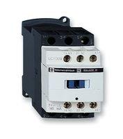 SCHNEIDER ELECTRIC LC1D09BL CONTACTOR, 3PST-NO, 24VDC, 20A, DIN RAIL