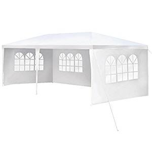 10'x20′ Outdoor Canopy Party Wedding Tent Garden Gazebo Pavilion Cater Events -4