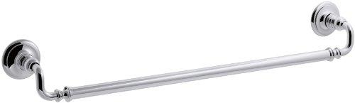 (KOHLER K-72568-CP Artifacts 24 In. Towel bar, Polished Chrome)