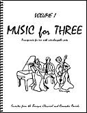 Reviews/Comments Music for Three, Volume