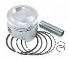 Wiseco 4817M09200 Piston Kit - Standard Bore 92.00mm, 10.5:1 Compression