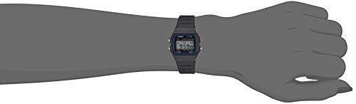 Casio F-91W-1YER Montre Unisex Digitale avec Bracelet en Résine – Gris (noir)