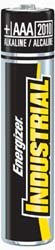 Energizer Industrial Aaa Alkaline Batteries (Energizer EN92-CS AAA 1.5volt 144/Case Industrial Batteries)