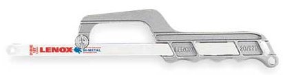 Lenox Hacksaw Frame (Lenox 20975-975 Aluminum Mini Hacksaw Frame)