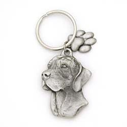 German Shorthaired Pointer Keychain by Karas and Rocha Marketing