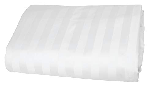 American Pillowcase Fitted Bed Sheet, 100% Egyptian Cotton, 540 Thread Count, Queen, White