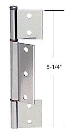 Aluminum Offset Replacement Hinge with 1/8