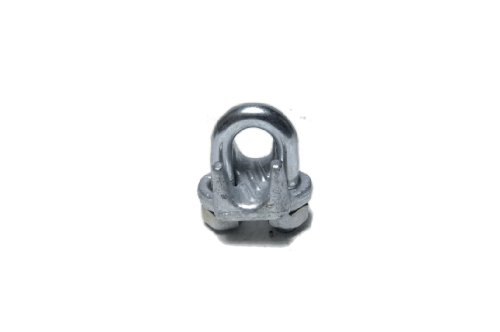 "Murphy 7/8"" Galvanized Drop Forged Wire Rope (Forged Wire Rope Galvanized Clips)"