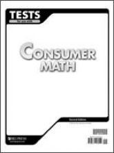 Tests for use with Consumer - Consumer Math Tests