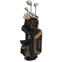 Tour Edge Bazooka 260 Men's Box Set, Right Hand, Black/Orange (Tour Edge Golf Club Set)