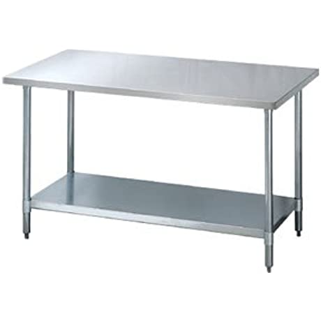 72 W X 30 D Stainless Steel Work Table 72 X 30