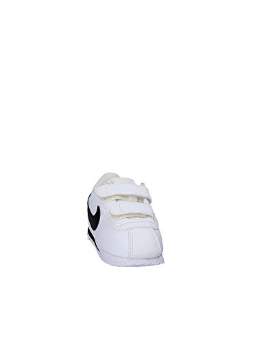 Nike Cortez Basic SL (TDV), Zapatillas de Trail Running Unisex Niño, Blanco (White/Black 102), 26 EU Blanco (White / Black 102)