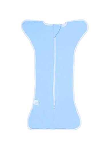 Pieds 1 Newborn 5 Bleu Couverture Acmede Mignon Bébé Wrap Couchage Coton Mois 6 Tog Doux Manches 0 De Sac ZAqx6x4w