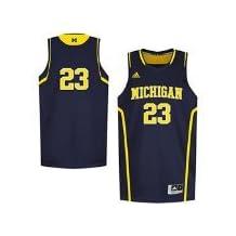 Michigan Wolverines #23 Adidas Jersey