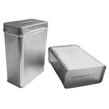 MCB ~ Tin Donation Box ~ Tip Container ~ Coin Collection Box ~ Ticket Box ~ (Pack of 10)