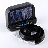EDTara Solar Powered Car Cooling Fan System Cool Fan Air Vent Window Ventilator for Car Vehicle