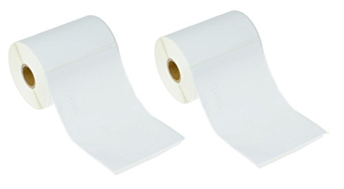 [2 Rolls, 440 Labels] Address & Shipping Labels 1744907 (4 x 6) Compatible for Dymo 4XL LabelWriter by enKo Products