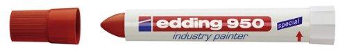 edding 4-950002 Spezialmarker 950 industry painter, 10 mm, rot