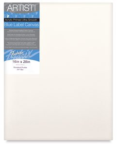 Fredrix 5613 Ultra Smooth Stretched Canvas, 30 by 40-Inch