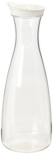 Prodyne J-56-W Acrylic 56-Ounce Juice Jar, White
