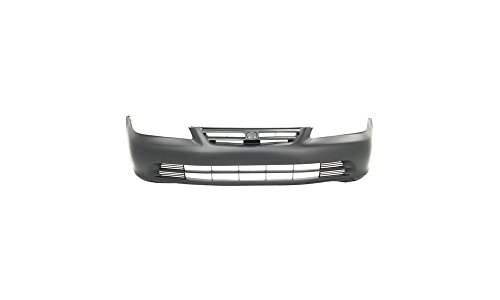 New Evan-Fischer EVA17872024597 Front BUMPER COVER Primed Direct Fit OE REPLACEMENT for 2001-2002 Honda AccordReplaces Partslink HO1000196 (2002 Bumper)