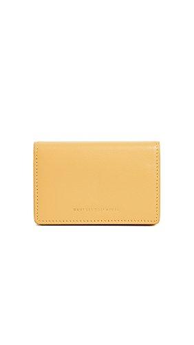 WANT LES ESSENTIELS Women's Lambert Card Case, Desert Marigold, One Size by WANT LES ESSENTIELS
