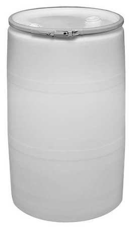 Transport Drum, Open Head, 55 gal., White