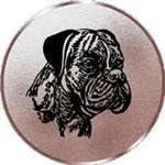 Sportland Pokal//Medaille Emblem S.B.J Durchmesser 50 mm Durchmesser Motiv Boxer