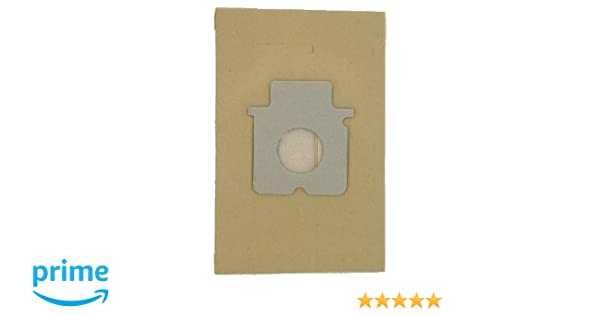 5 bolsas de aspiradoras en papel Panasonic MC-CG383