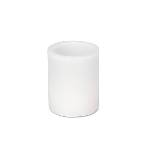 Candle Sleeves for LED Tea Lights-White-3.5 Inch