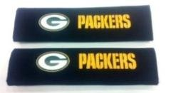 Green Bay Packers Seat - NFL Team Green Bay Packers Seat Belt Shoulder Pads, Pair