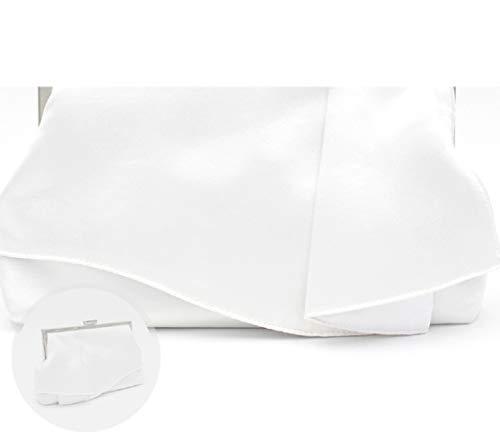 Pochette Bridal À De Sac Soirée Mini Bandoulière Wjp Blanc Diagonale Sac Banquet Chaîne Ladies 5qYBPP