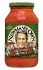 Newman`s Own Marinara with Mushrooms Pasta Sauce (12x24 OZ) ()