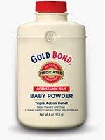 - Gold Bond Medicated Baby Powder Cornstarch Plus - 4 oz, Pack of 6