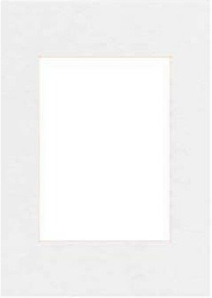Hama Premium Passepartout, Smooth White, 40 x 60 cm Bianco 63218