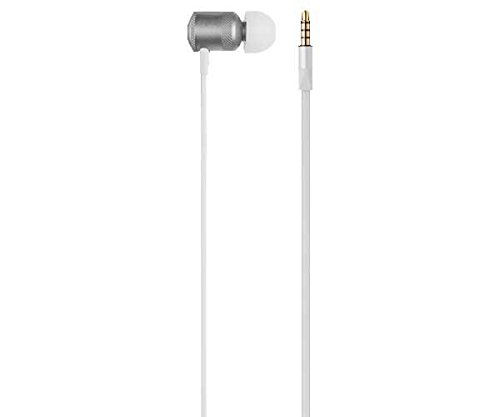 Earphone Hands Free Stereo Audio Wired, Pulse, Cinza
