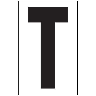 """Anti-Slip Floor Marker 12""""WT TT Black on White"""