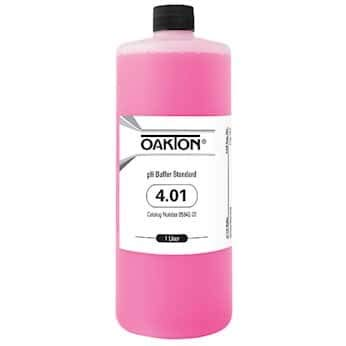 Oakton Buffer Solution, pH 4.01; 1000 mL by Oakton