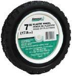 Mower Wheel Plastic Lawn (Arnold Plastic Wheel Diamond Tread 7