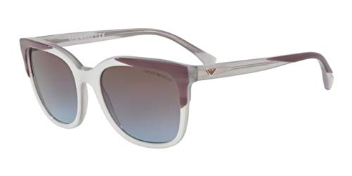 Emporio Armani 0EA4119, Gafas de Sol para Mujer, Striped On ...