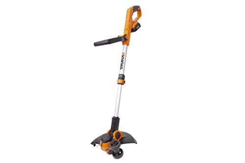 Worx WG162 20V 12″ Cordless String Trimmer/Edger, Battery and Charger included (Renewed)