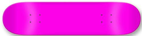 Neon Pink Skateboards (Moose Blank Skateboard Deck, Neon Pink, 7.75-Inch)
