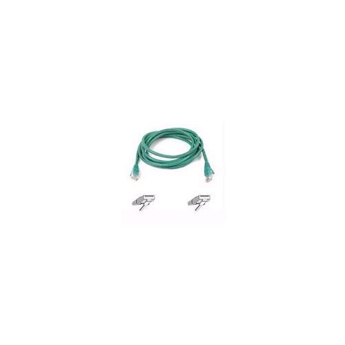 BELKIN cat5e 20ft green patch cable rj45m/rj45m w/snagless boot A3L791-20-GRN-S