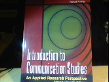 Introduction to Communication Studies : An Applied Research Perspective, Bollinger, David M., 0757502997