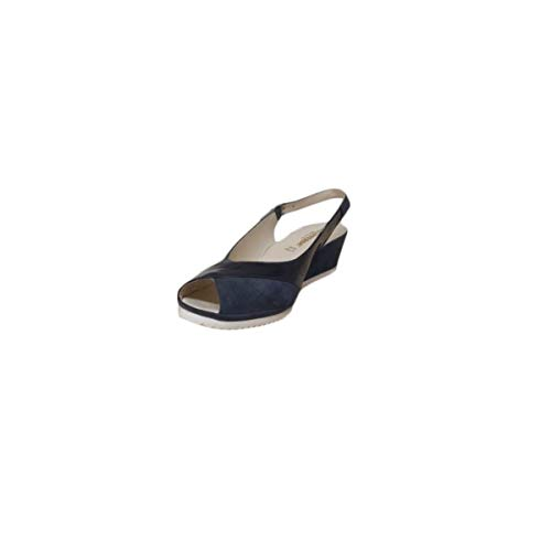 Donna Camoscio blu Sandali Valleverde Blu Scarpe 30201 vtBFqw5xFn