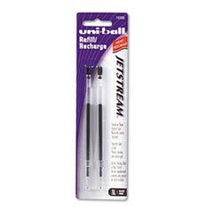 (SANFORD INK COMPANY 74396PP Refill for uni-ball JetStream Ballpoint, Bold, Black Ink, 2/Pack)